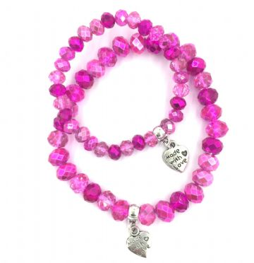 Mummy and me bracelet kit - Candy floss collection Makes 28 bracelets (99p each) bkcf-002